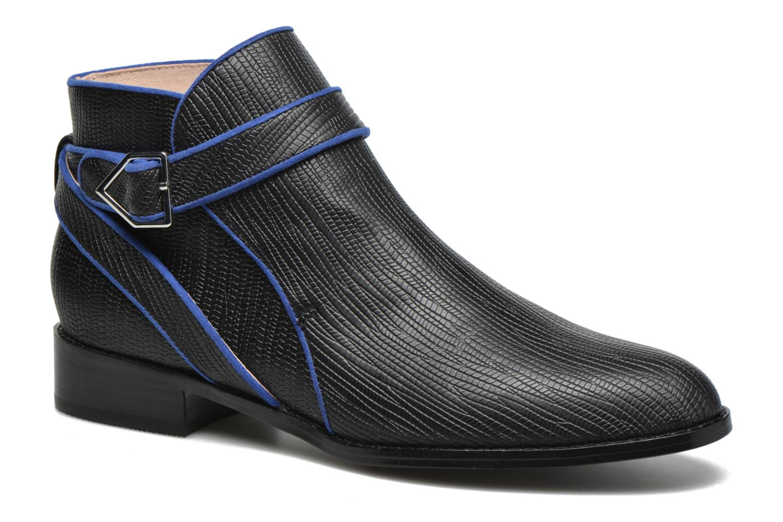 Boots en enkellaarsjes Mellow Yellow Alidiane Zwart detail