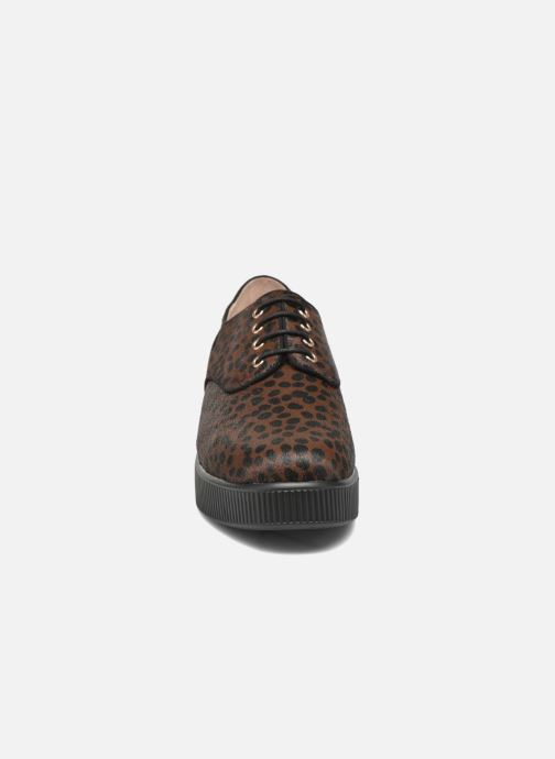 Chaussures à lacets Mellow Yellow Aloumer Marron vue portées chaussures