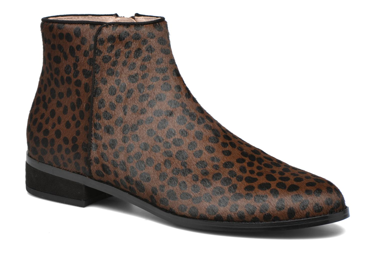 Bottines et boots Mellow Yellow Alouna Marron vue détail/paire