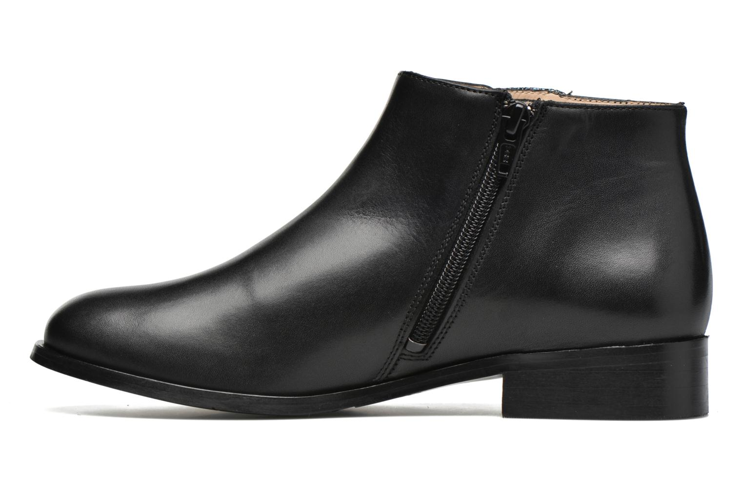 Ankle boots Mellow Yellow Arime Black front view