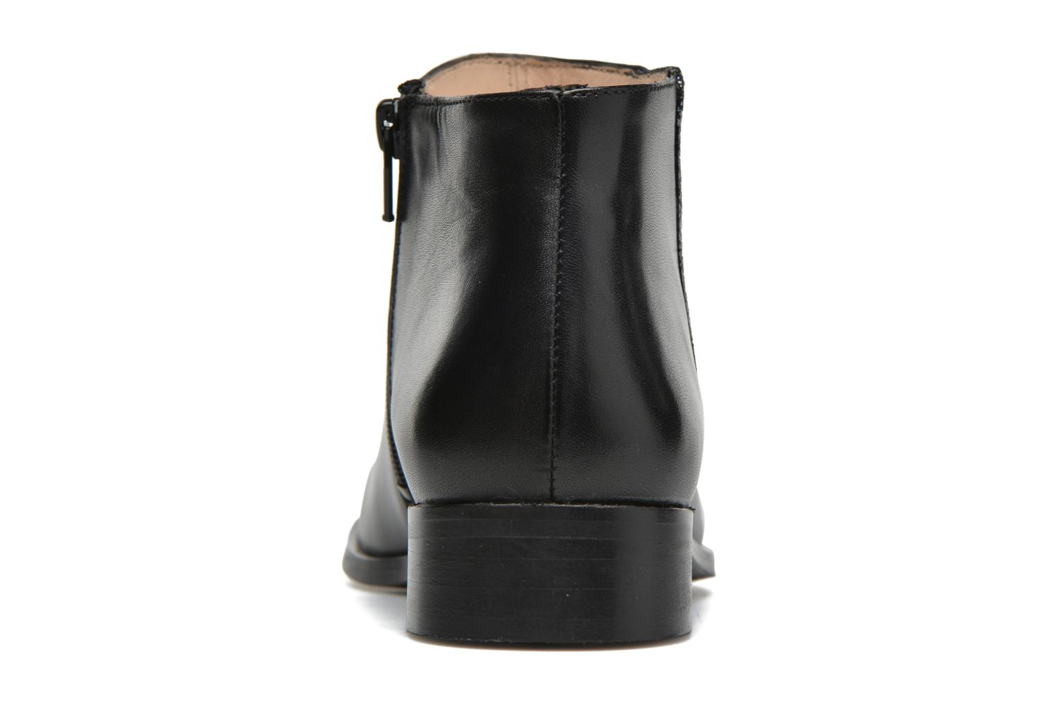 Ankle boots Mellow Yellow Arime Black view from the right