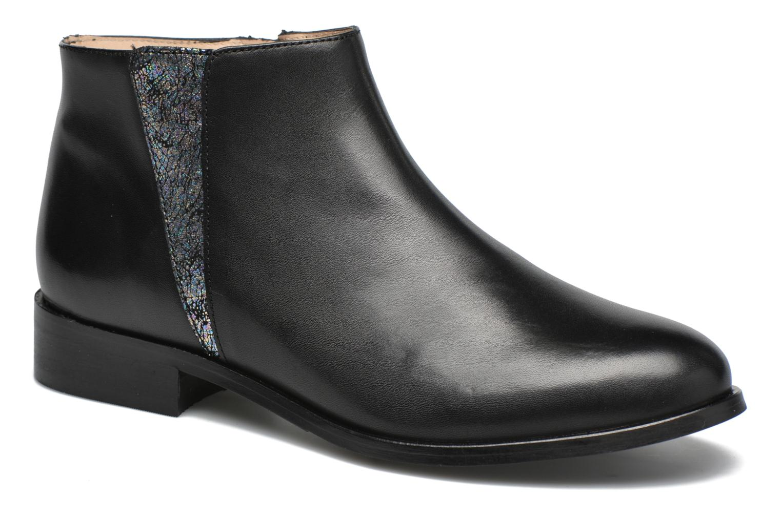 Ankle boots Mellow Yellow Arime Black detailed view/ Pair view