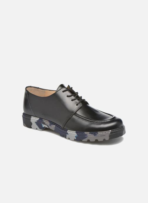 Chaussures à lacets Mellow Yellow Arsin Noir vue 3/4