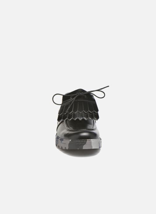 Chaussures à lacets Mellow Yellow Arsin Noir vue portées chaussures