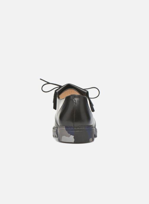 Chaussures à lacets Mellow Yellow Arsin Noir vue droite