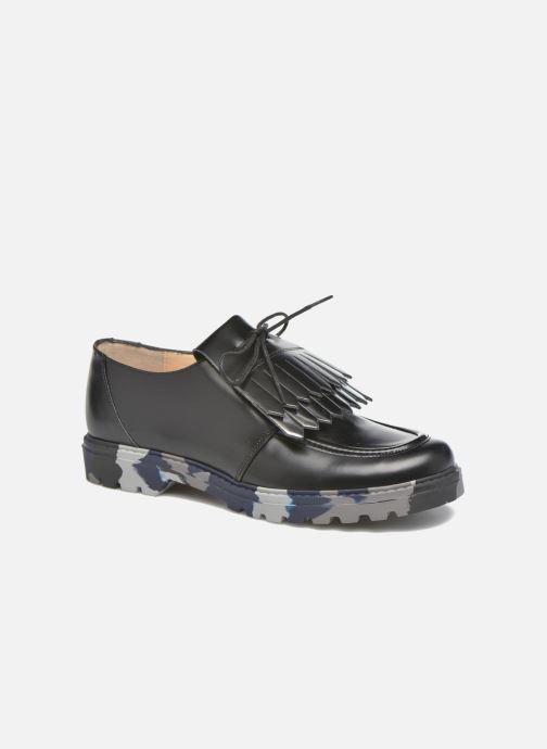 Chaussures à lacets Mellow Yellow Arsin Noir vue détail/paire