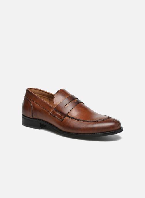 Loafers Marvin&Co Nantlle Brun detaljeret billede af skoene