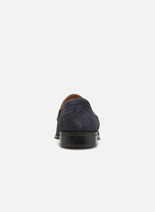 Mocasines Marvin&Co Nantlle Azul vista lateral derecha