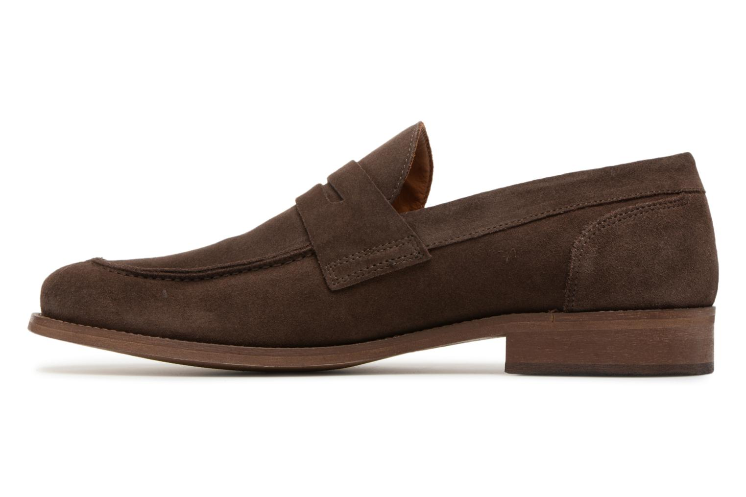 Loafers Marvin&co Nantlle Brown front view