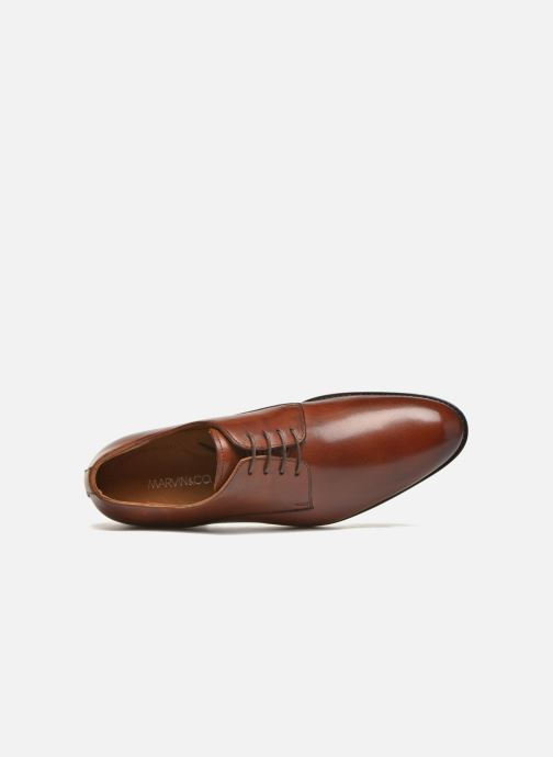 Chaussures à lacets Marvin&Co Naust Marron vue gauche