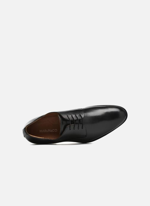Lace-up shoes Marvin&co Naust Black view from the left