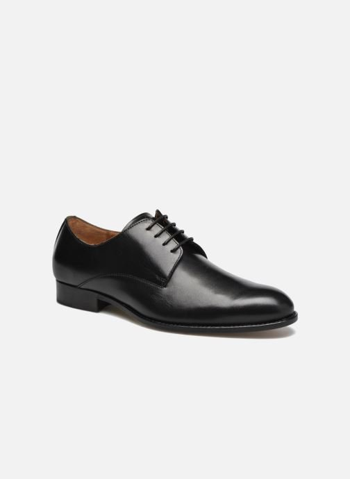 Lace-up shoes Marvin&co Naust Black detailed view/ Pair view