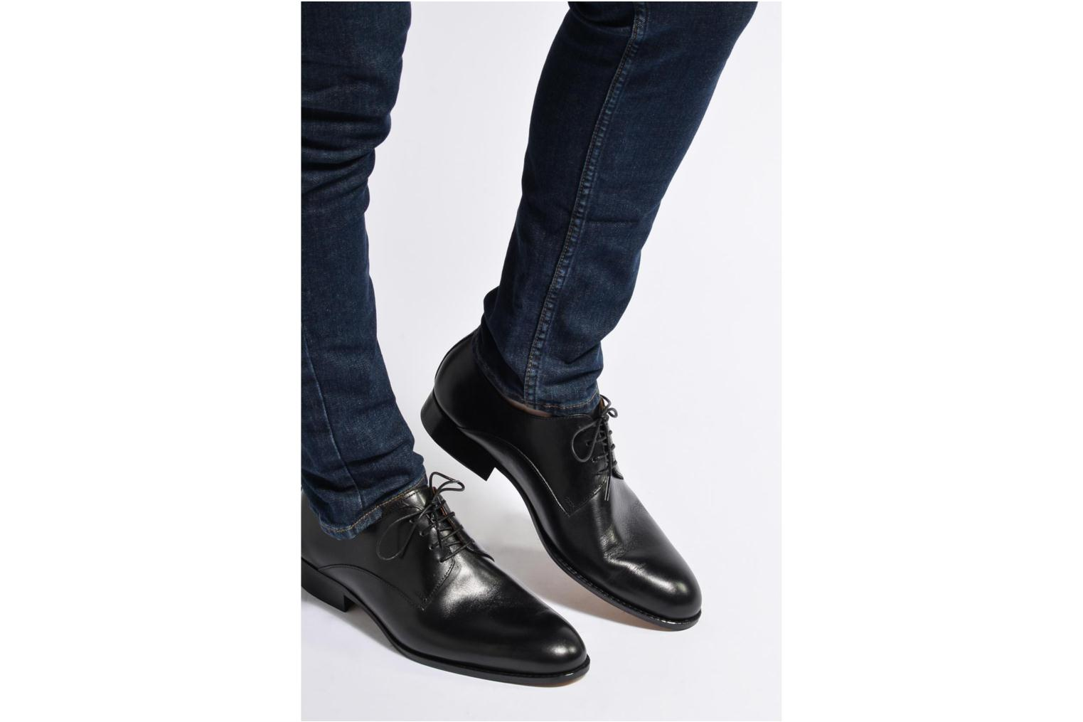 Lace-up shoes Marvin&co Naust Black view from underneath / model view