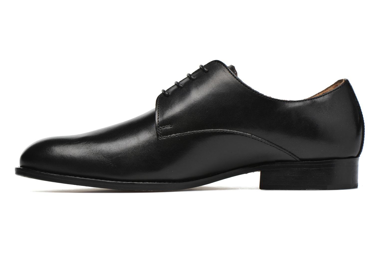 Schnürschuhe Marvin&Co Naust schwarz ansicht von vorne