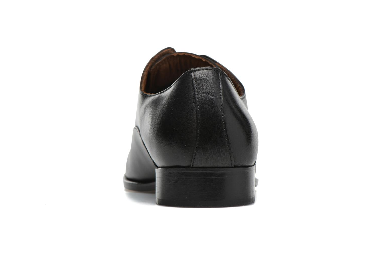 Schnürschuhe Marvin&Co Naust schwarz ansicht von rechts