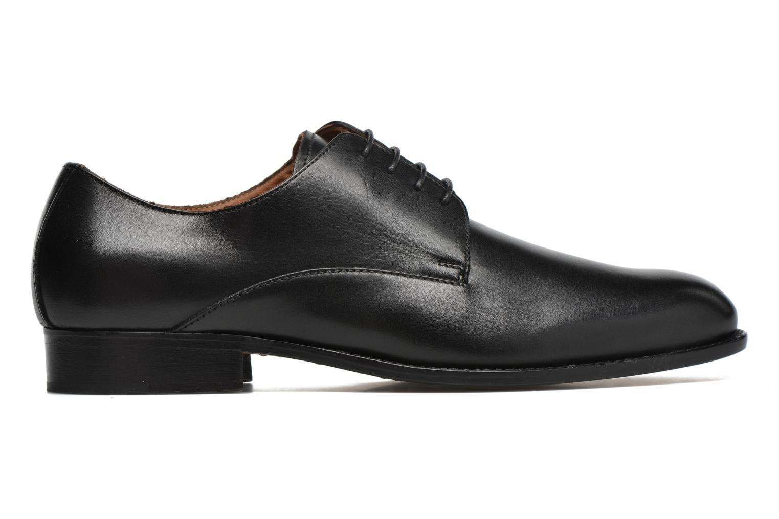 Lace-up shoes Marvin&co Naust Black back view