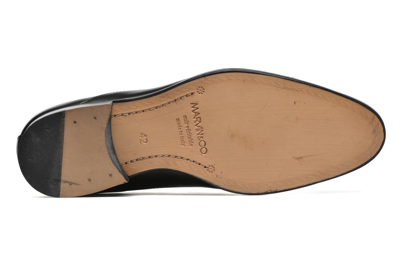 Schnürschuhe Marvin&Co Naust schwarz ansicht von oben