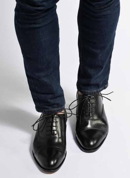 Lace-up shoes Marvin&co Nympsfield Brown view from underneath / model view