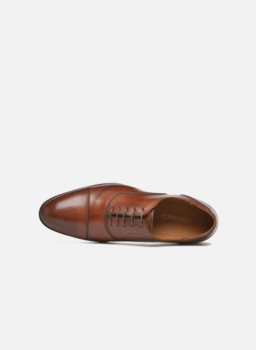 Lace-up shoes Marvin&co Nympsfield Brown view from the left