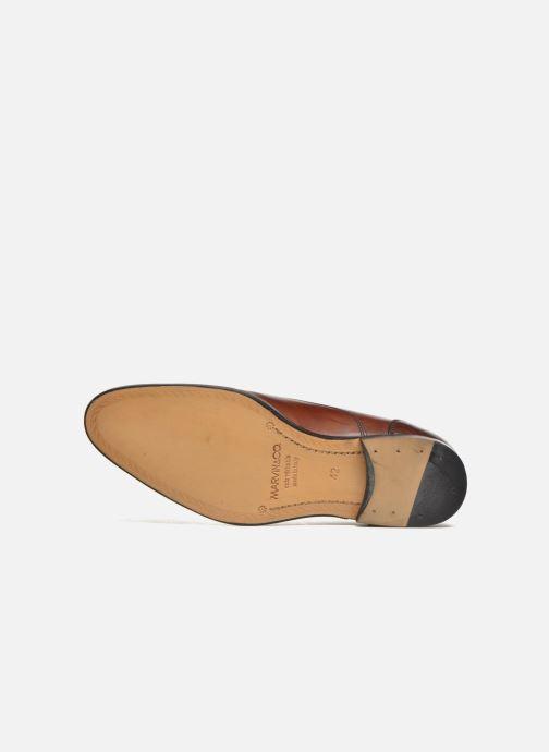 Chaussures à lacets Marvin&Co Nympsfield Marron vue haut