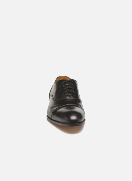 Schnürschuhe Marvin&Co Nympsfield schwarz schuhe getragen
