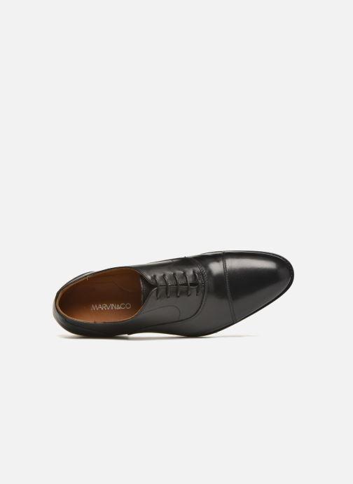 Scarpe con lacci Marvin&Co Nympsfield Nero immagine sinistra