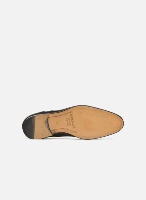 Lace-up shoes Marvin&co Nympsfield Black view from above