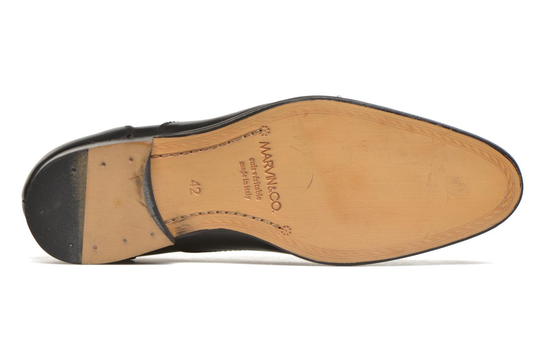 Zapatos con cordones Marvin&Co Nympsfield Negro vista de arriba