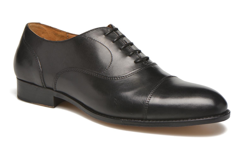 Zapatos con cordones Marvin&Co Nympsfield Negro vista de detalle / par