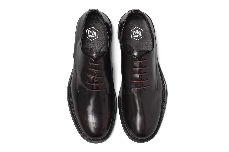 Zapatos con cordones Mr SARENZA Nobil Vino vista del modelo
