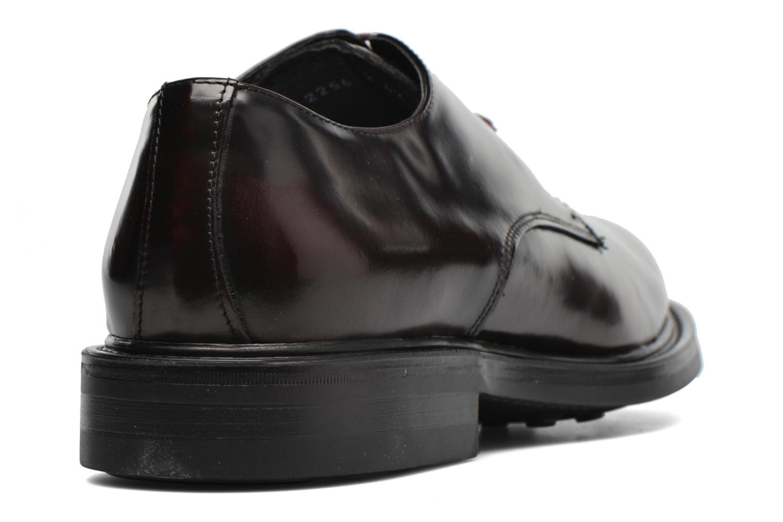 Zapatos con cordones Mr SARENZA Nobil Vino vista de frente