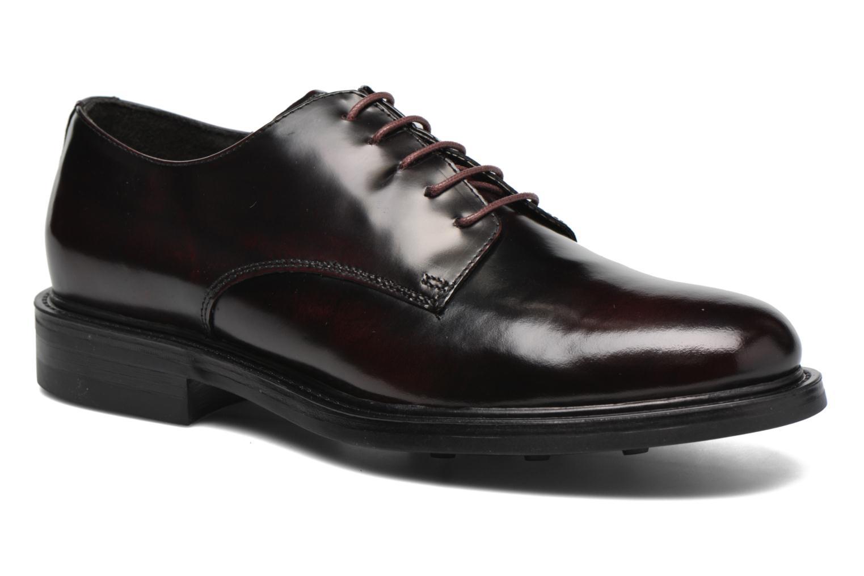 Zapatos con cordones Mr SARENZA Nobil Vino vista lateral derecha