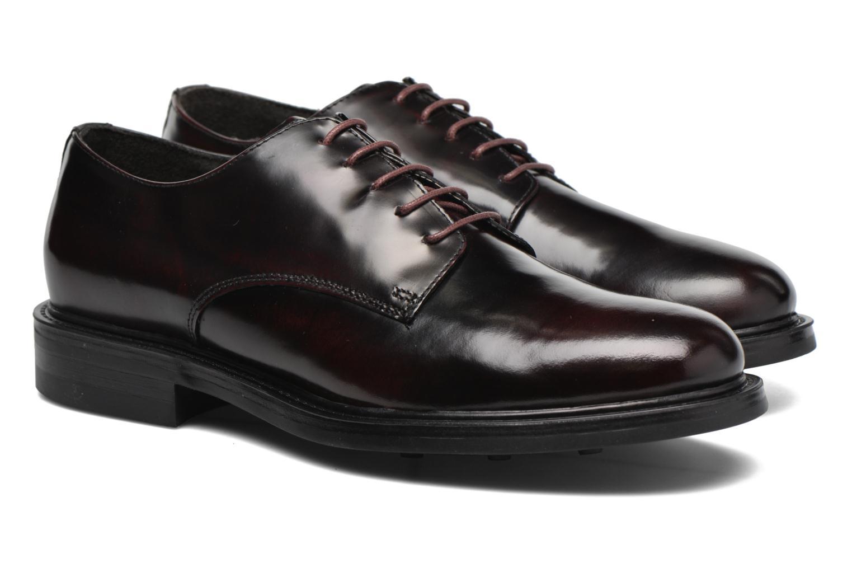 Zapatos con cordones Mr SARENZA Nobil Vino vistra trasera