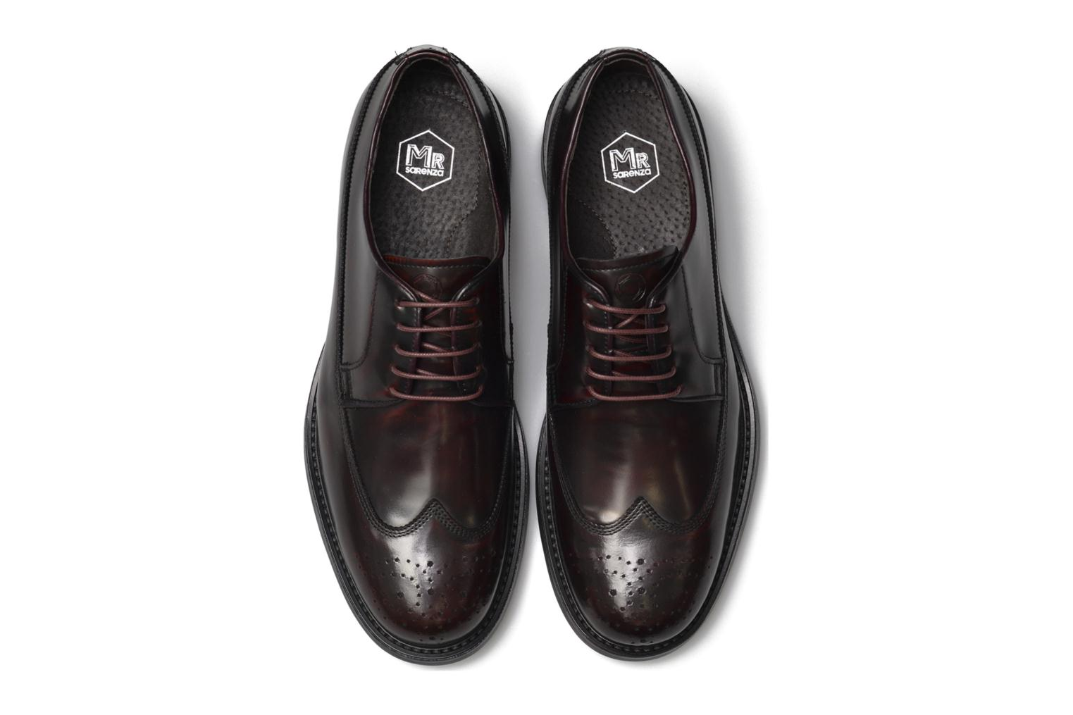 Lace-up shoes Mr SARENZA Notheam Burgundy model view