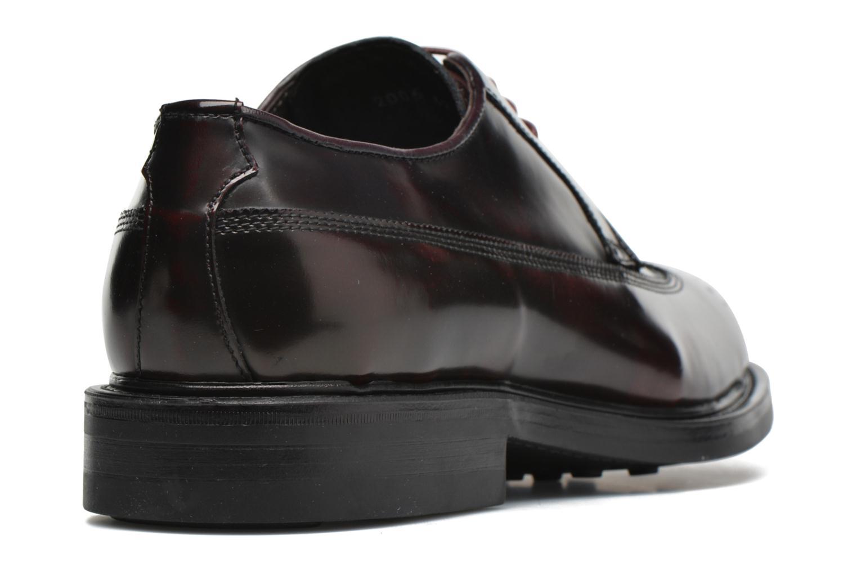 Zapatos con cordones Mr SARENZA Notheam Vino vista de frente