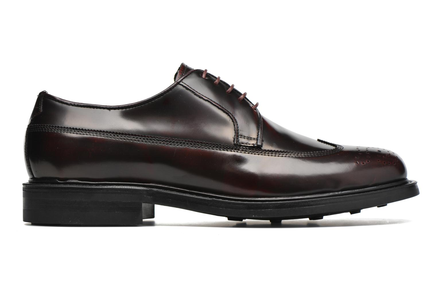 Lace-up shoes Mr SARENZA Notheam Burgundy detailed view/ Pair view