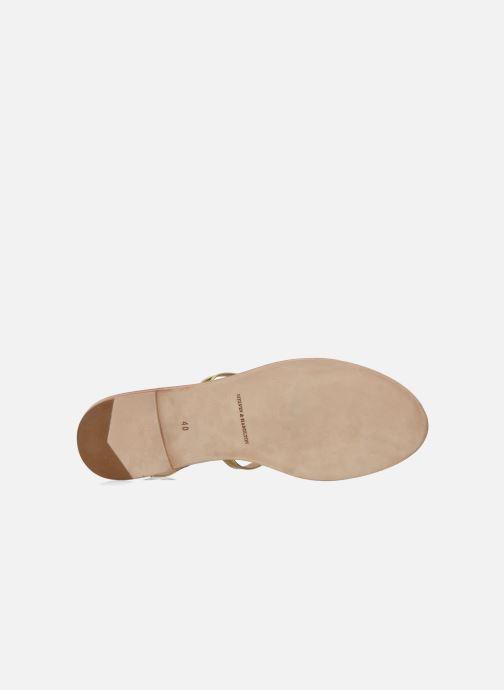 Sandales et nu-pieds Melvin & Hamilton Celia 18 Or et bronze vue haut