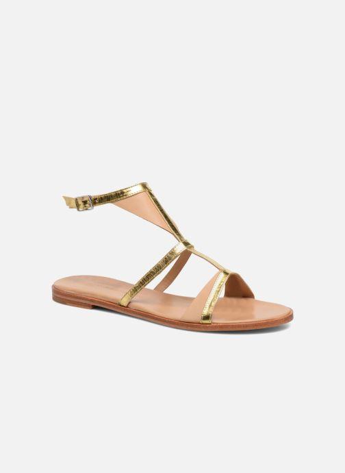 Sandales et nu-pieds Melvin & Hamilton Celia 18 Or et bronze vue détail/paire