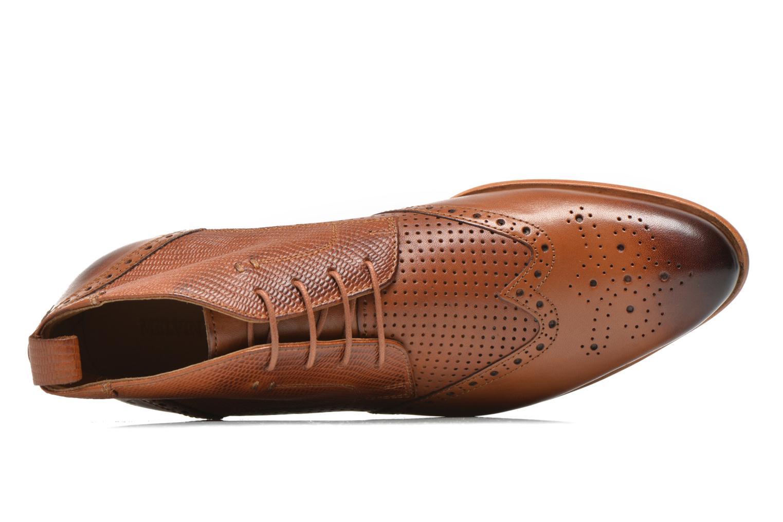 Chaussures à lacets Melvin & Hamilton Erol 10 Marron vue gauche