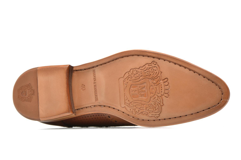 Chaussures à lacets Melvin & Hamilton Erol 10 Marron vue haut