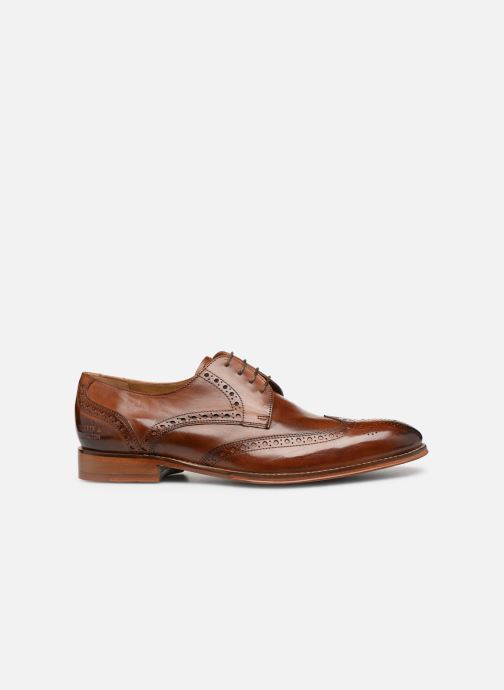 Lace-up shoes Melvin & Hamilton Kane 5 Brown back view