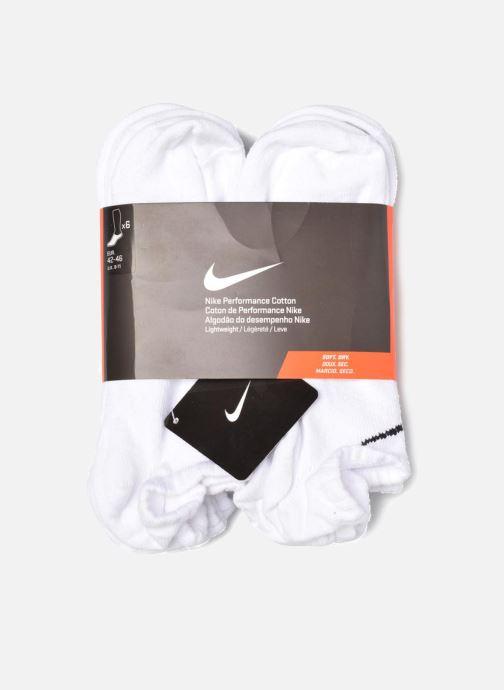 Strømper og tights Nike PERF LTWT NS 6PR Hvid se bagfra