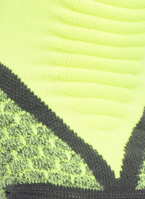 Chaussettes et collants Nike Nike Elite Cushioned No-Show Tab Running Sock Jaune vue portées chaussures