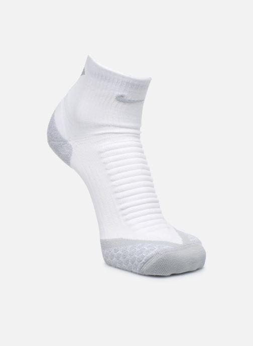 Sokken en panty's Nike Nike Elite Cushion Quarter Running Sock Wit model