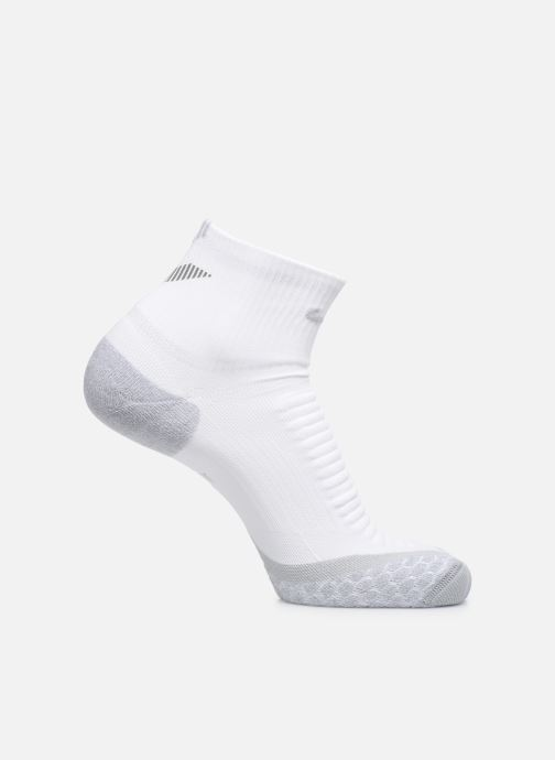 Chaussettes et collants Nike Nike Elite Cushion Quarter Running Sock Blanc vue détail/paire