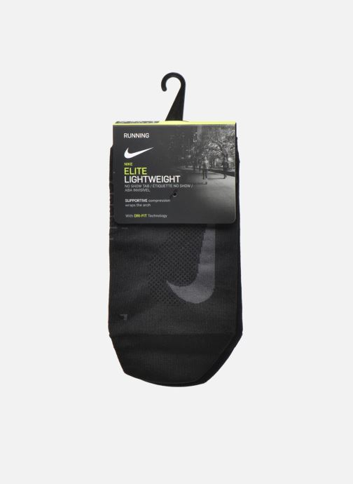 Socken & Strumpfhosen Nike Nike Elite Lightweight No-Show Tab Running Sock schwarz ansicht von hinten
