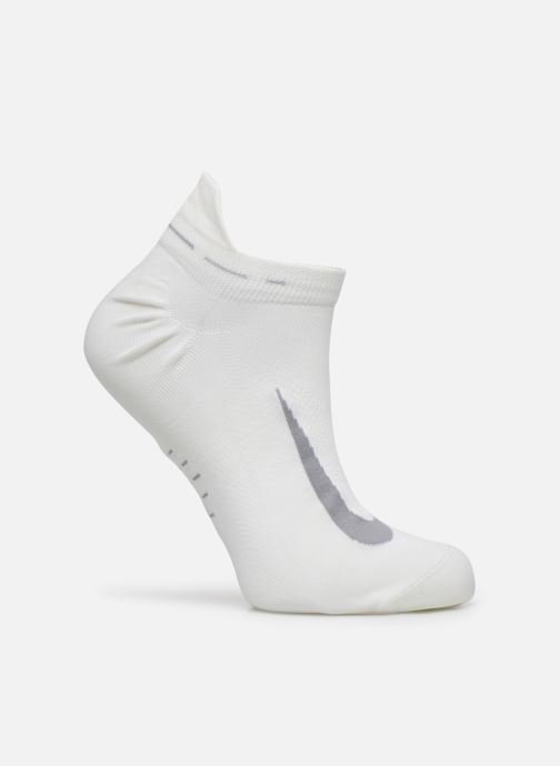 Chaussettes et collants Nike Nike Elite Lightweight No-Show Tab Running Sock Blanc vue détail/paire