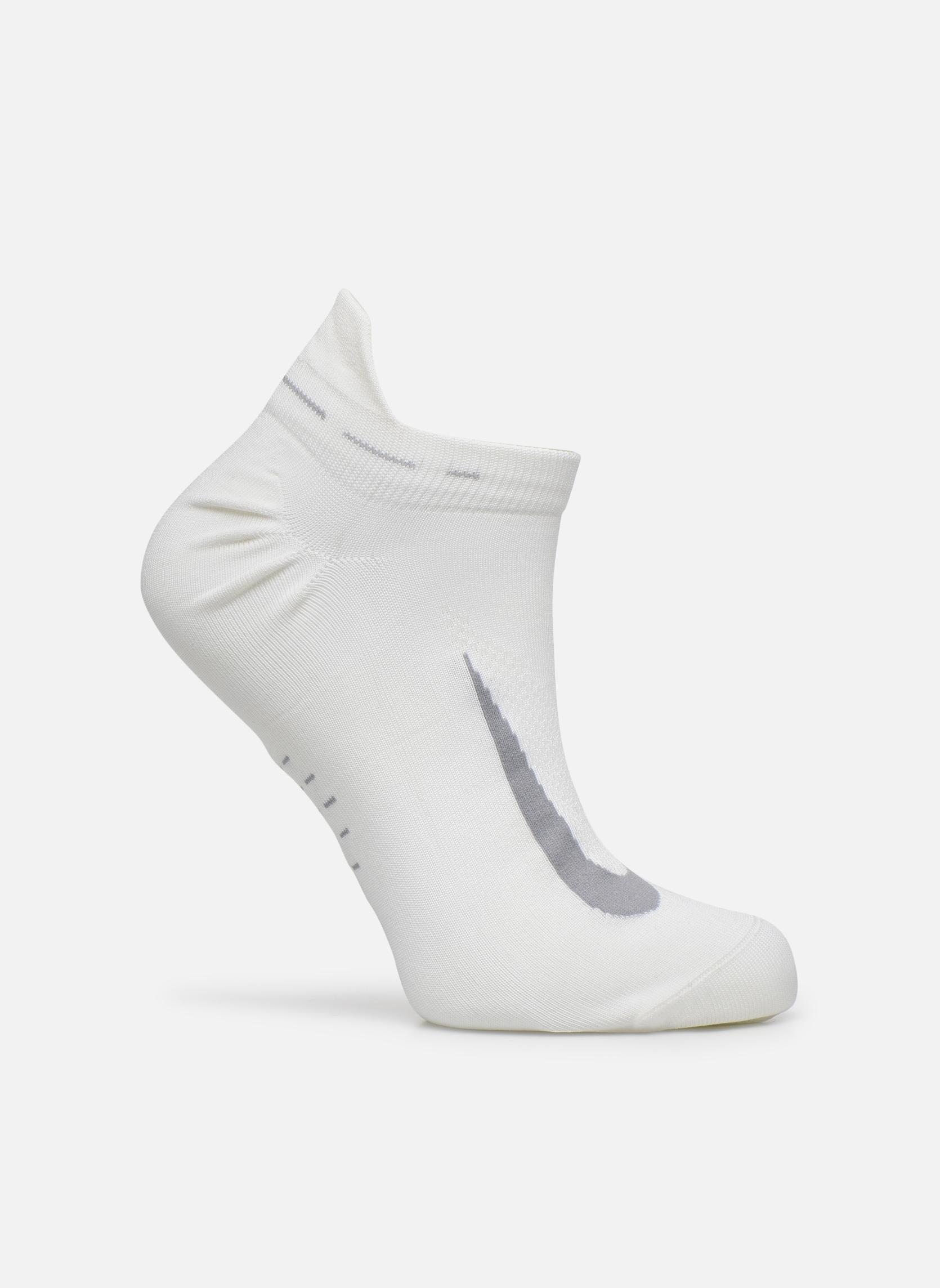 Calze e collant Nike Nike Elite Lightweight No-Show Tab Running Sock Bianco vedi dettaglio/paio