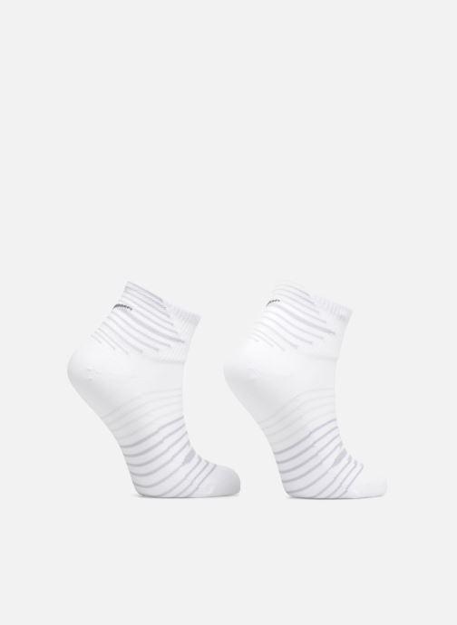Calze e collant Nike Nike Dri-FIT Lightweight Quarter Running Sock (2 Pair) Bianco vedi dettaglio/paio