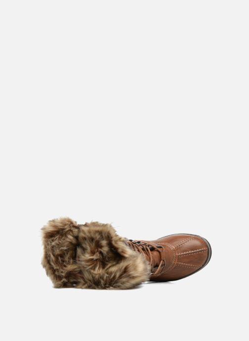 Chaussures de sport Kimberfeel Beverly Marron vue gauche